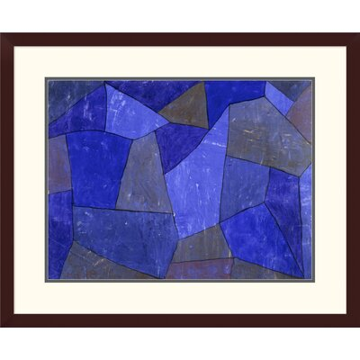 'Rocks at Night' by Paul Klee Framed Graphic Art DPF-463766-1824-180