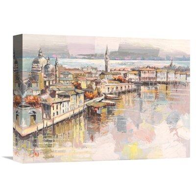 'Dolce Venezia' by Luigi Florio Painting Print on Wrapped Canvas