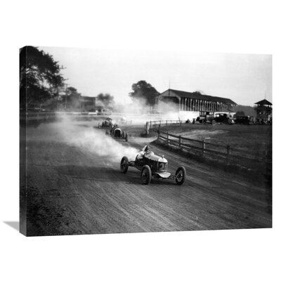 'Racing Automobiles' by H. Armstrong Roberts Photographic Print on Wrapped Canvas GCS-463527-2432-142