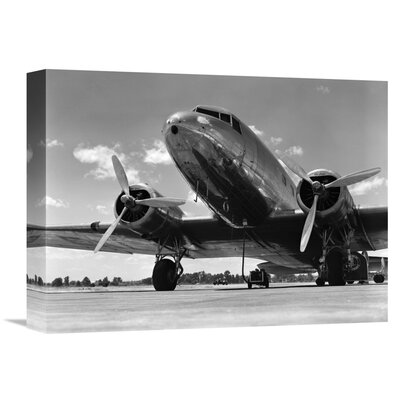 '1940s Passenger Airplane' by H. Armstrong Roberts Photographic Print on Wrapped Canvas GCS-463562-1216-142