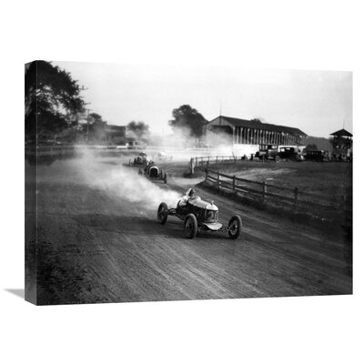 'Racing Automobiles' by H. Armstrong Roberts Photographic Print on Wrapped Canvas GCS-463527-1824-142