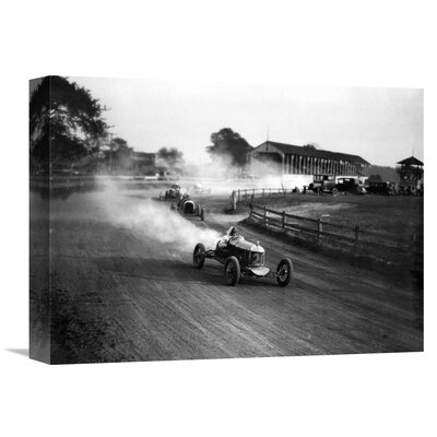 'Racing Automobiles' by H. Armstrong Roberts Photographic Print on Wrapped Canvas GCS-463527-1216-142