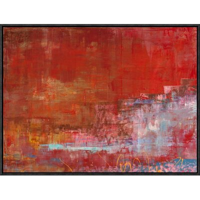 'Mare di Luce' by Italo Corrado Framed Painting Print on Canvas GCF-463611-1824-175