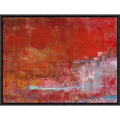 'Mare di Luce' by Italo Corrado Framed Painting Print on Canvas GCF-463611-1216-175