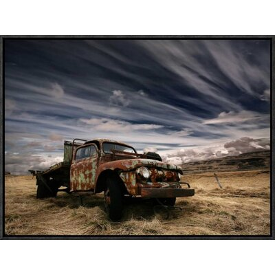 'Corrosion' by Thorsteinn H. Ingibergsson Framed Photographic Print GCF-462135-22-175