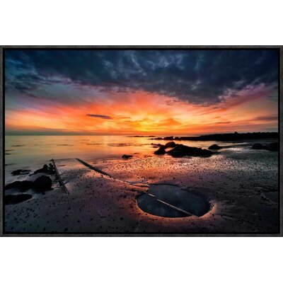 'Into the Sunset' by Thorsteinn H. Ingibergsson Framed Photographic Print GCF-462138-22-175
