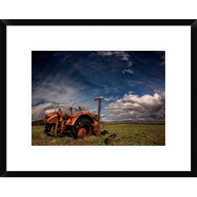 'Tractor' by Thorsteinn H. Ingibergsson Framed Photographic Print DPF-462140-16-266
