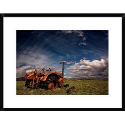 'Tractor' by Thorsteinn H. Ingibergsson Framed Photographic Print DPF-462140-22-266