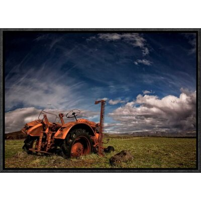 'Tractor' by Thorsteinn H. Ingibergsson Framed Photographic Print GCF-462140-16-175