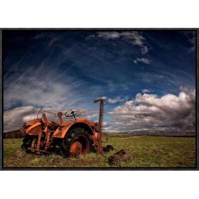 'Tractor' by Thorsteinn H. Ingibergsson Framed Photographic Print GCF-462140-22-175