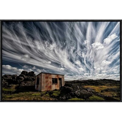 'Fluffy Sky' by Thorsteinn H. Ingibergsson Framed Photographic Print GCF-462136-22-175