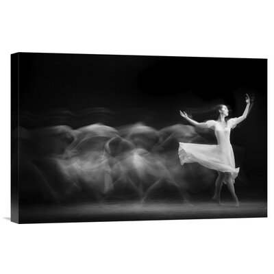 'S L O W' by Yudhistira Yogasara Graphic Art on Wrapped Canvas GCS-466338-1218-142
