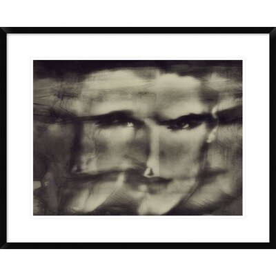 "'Beginnings (Shadows)' by Dalibor Davidovic Framed Graphic Art Size: 24"" H x 30"" W x 1.5"" D DPF-466829-1824-266"