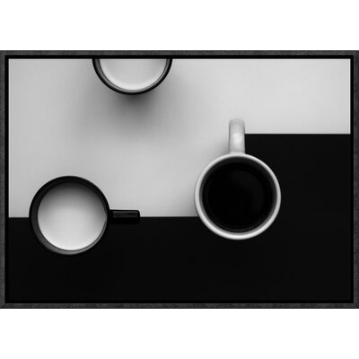 "'Cups' by Jozef Kiss Framed Photographic Print Size: 28"" H x 40"" W x 1.5"" D GCF-466524-40-175"