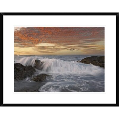 Breaking Wave, Playa Langosta, Guanacaste, Costa Rica by Tim Fitzharris Framed Photographic Print DPF-452183-1824-266