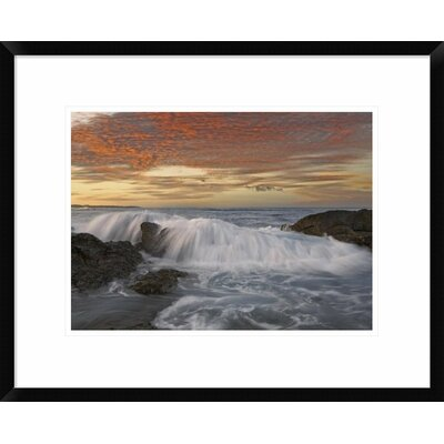 Breaking Wave, Playa Langosta, Guanacaste, Costa Rica by Tim Fitzharris Framed Photographic Print DPF-452183-1216-266