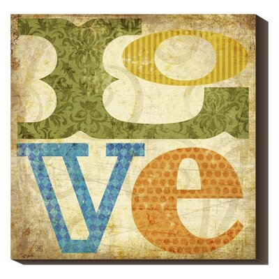 Love by SuZanna Anna Textual Art on Wrapped Canvas GCS-135708-3636-144