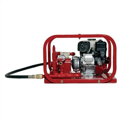 Rice Hydro 300 PSI Hydrostatic Test Water Pump with 5.0 HP Briggs or Honda Engine - Engine: Honda at Sears.com
