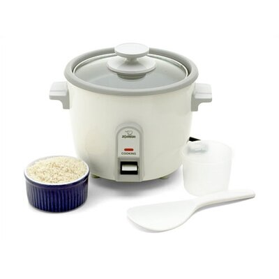 Steamer & Rice Cooker Size: 10 Cup NHS-18WH
