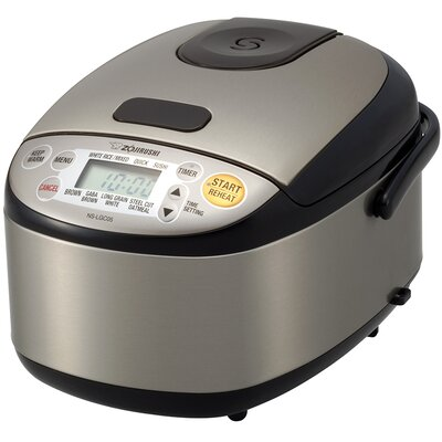 Micom 3-Cup Rice Cooker and Warmer NS-LGC05XB