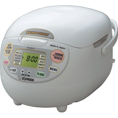 Neuro Fuzzy Rice Cooker and Warmer Size: 10 Cup NS-ZCC18WZ