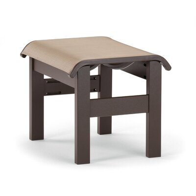St. Catherine Ottoman Finish: Textured Kona, Fabric: Walnut