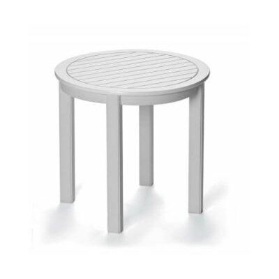 Marine Grade Polymer Round End Table