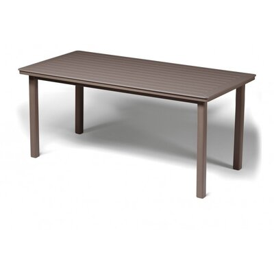 Marine Grade Polymer Rectangular Bar Table