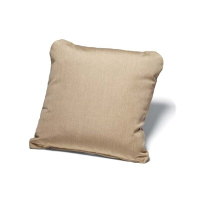 Throw Pillow Size: 15 H x 15 W, Color: Champagne