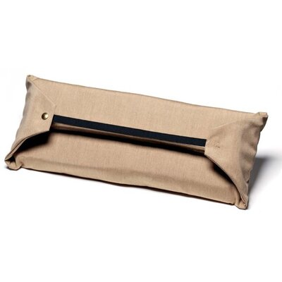 Attachable Lumbar Pillow Color: Champagne