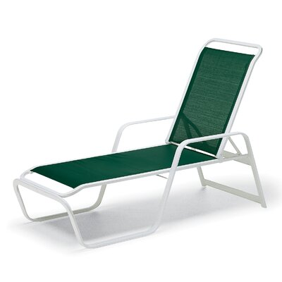 Vanese Chaise Lounge (Set of 2) Fabric: Preston, Finish: Gloss White