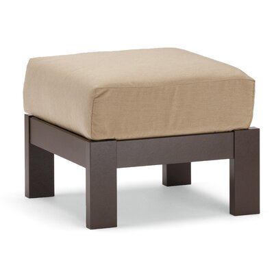 St. Catherine Deep Ottoman with Cushion
