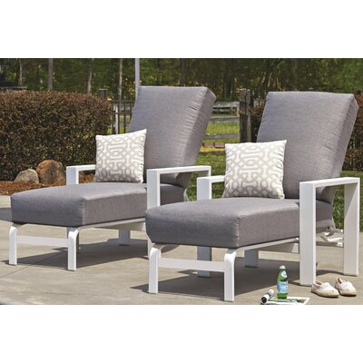 Larssen Deep Chaise Lounge with Cushion