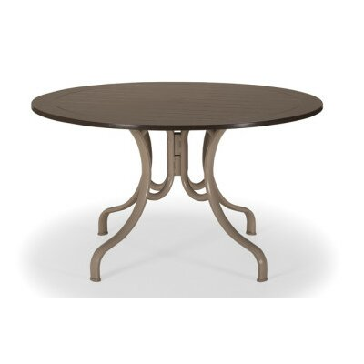 Marine Grade Polymer Round 48 Deluxe Dining Table