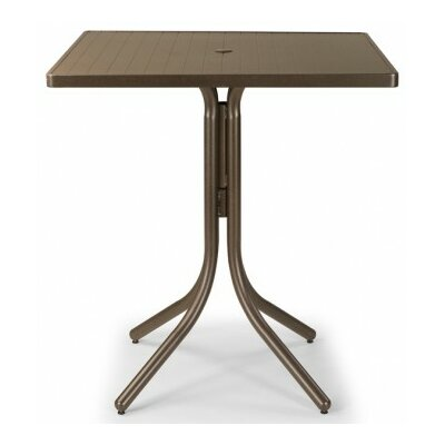 Aluminum Slat 36 Square Bar Table