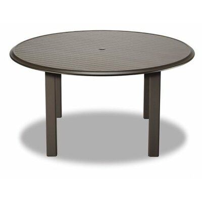 Aluminum Slat 56 Round Table