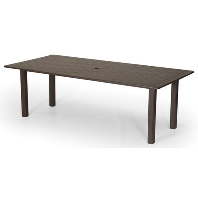 Marine Grade Polymer Rectangular Extension Table