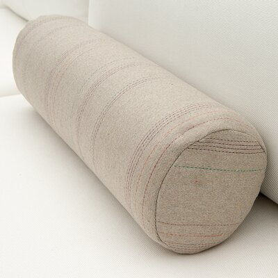 Bolster Pillow Color: Stone Linen