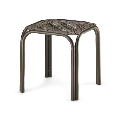 Square Cast Top End Table (Set of 4)