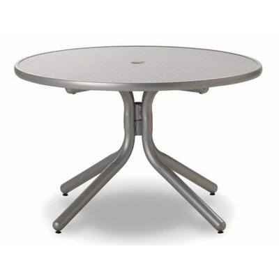 Embossed Aluminum 36 Round Chat Table