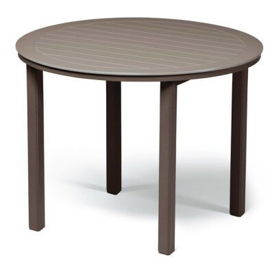 Marine Grade Polymer Round Bar Table