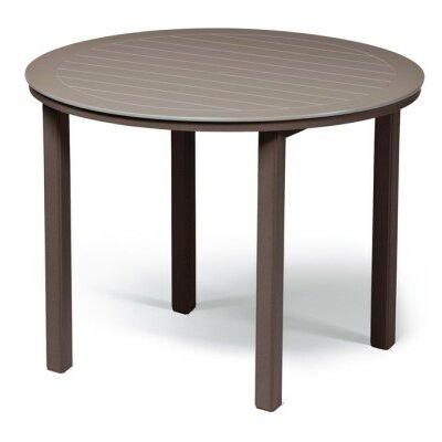 Marine Grade Polymer Round Bar Table 454 Item Photo