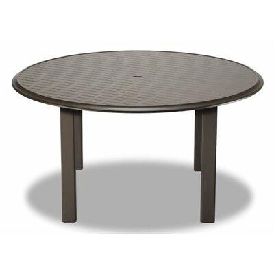 Aluminum Slat 56 Round Bar Table