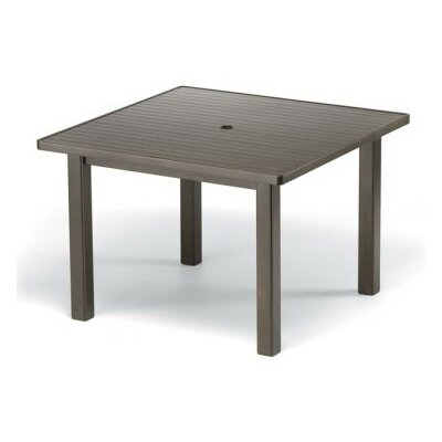 Aluminum Slat 42 Square Bar Table