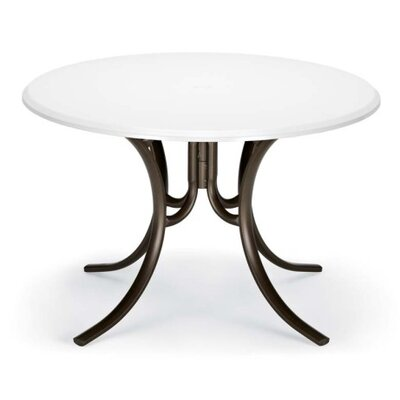 Werzalit 48 Round Deluxe Dining Table