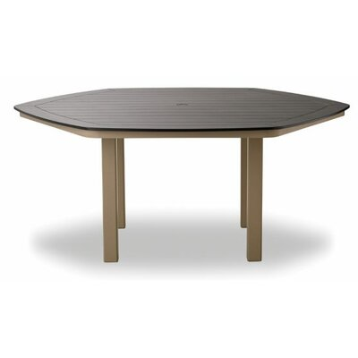 Grade Polymer Hexagonal Dining Table 10074 Product Photo