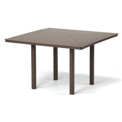 Marine Grade Polymer Square Bar Table