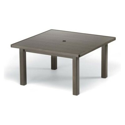 Aluminum Slat Square 42 Chat Table