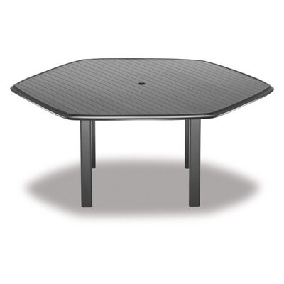 Aluminum Slate Hexagonal Chat Table