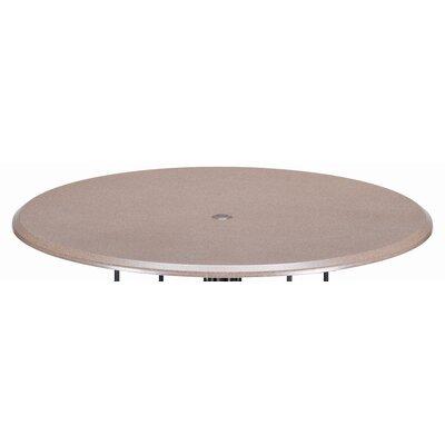 Werzalit Round 42 Spun Pedestal Bar Table